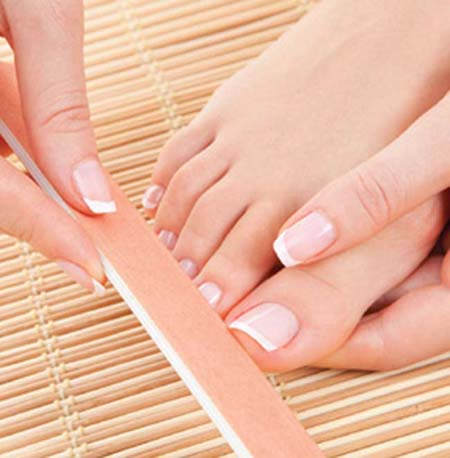 how to get shiny nails naturally